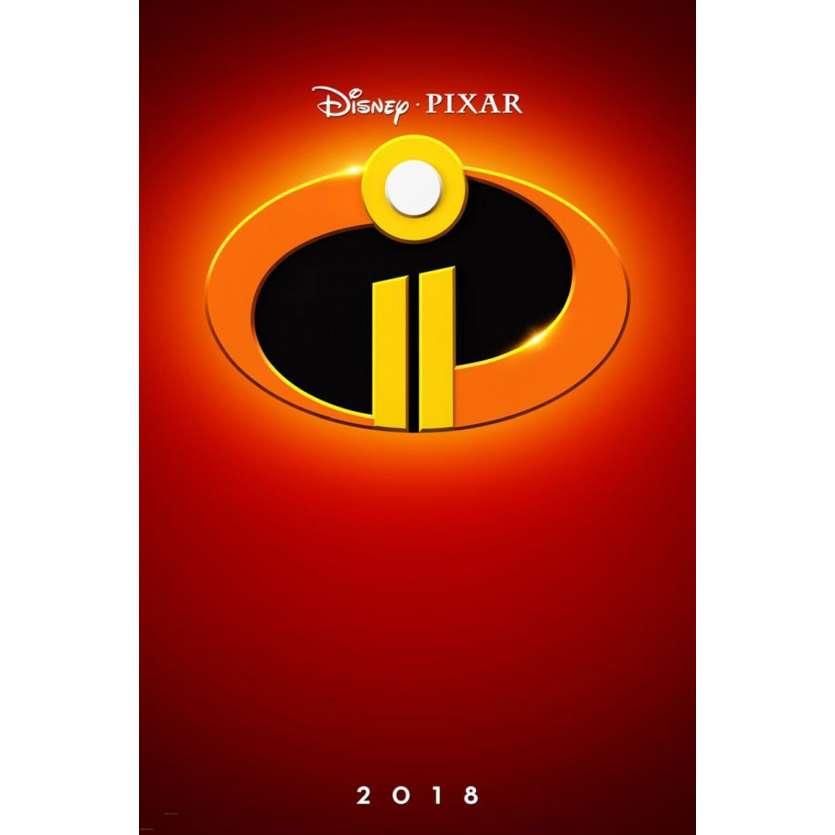 LES INDESTRUCTIBLES 2 Affiche de film DS - Adv. - 69x104 cm. - 2018 - Samuel L. Jackson, Brad Bird