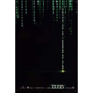 MATRIX REVOLUTION US Movie Poster 27x40 - 2006 - Wachovsky, Keanu Reeves