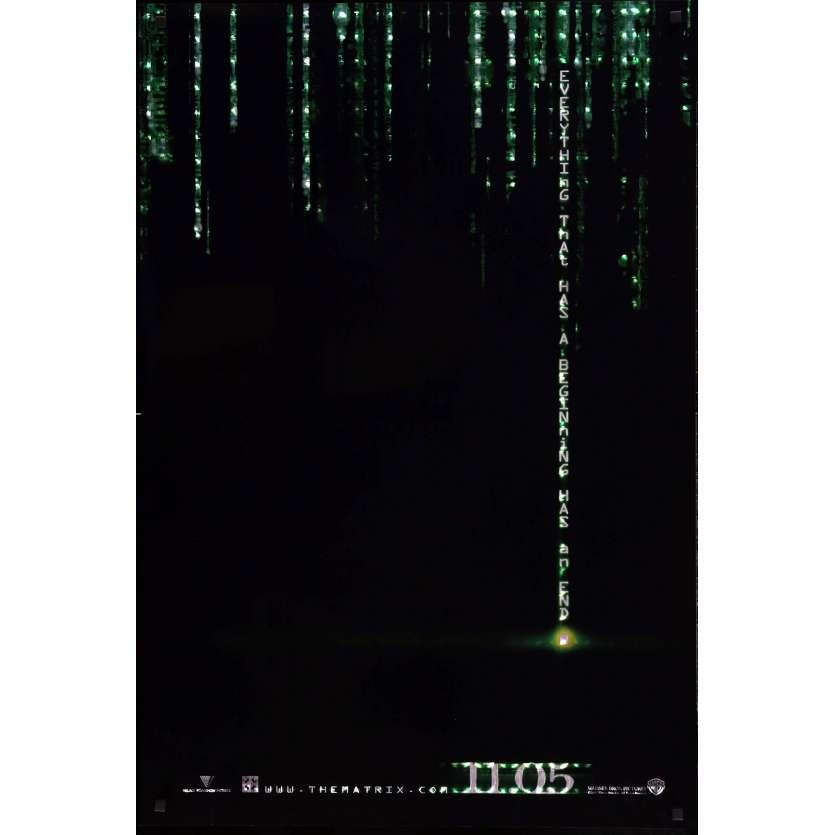 MATRIX REVOLUTION US Movie Poster 27x40 - 2006 - Wachovsky, Keanu Reeves