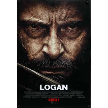 LOGAN Movie Poster Style C. Adv. - 29x41 in. - 2017 - James Mangold, Hugh Jackman