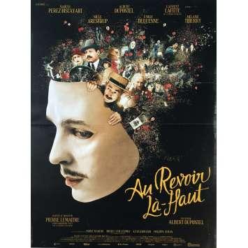 AU REVOIR LA HAUT Movie Poster 15x21 in. - 2017 - Albert Dupontel, Mélanie Thierry