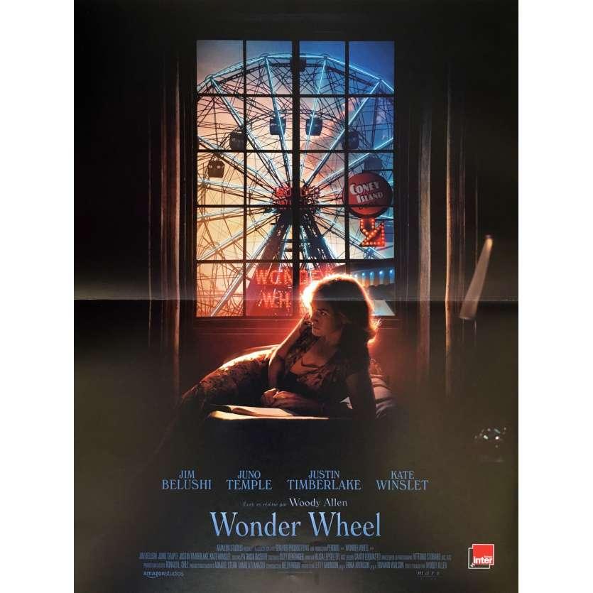 WONDER WHEEL Movie Poster - 15x21 in. - 2017 - Woody Allen, Jim Belushi