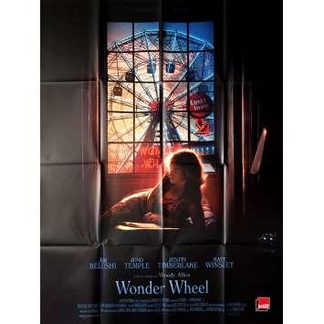 WONDER WHEEL Affiche de film - 120x160 cm. - 2017 - Jim Belushi, Woody Allen
