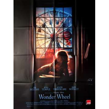 WONDER WHEEL Movie Poster - 47x63 in. - 2017 - Woody Allen, Jim Belushi