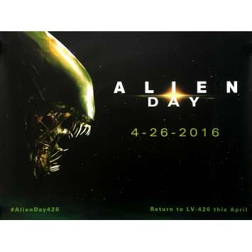 ALIEN Movie Poster - 30x40 in. - 1979 - Ridley Scott, Sigourney Weaver