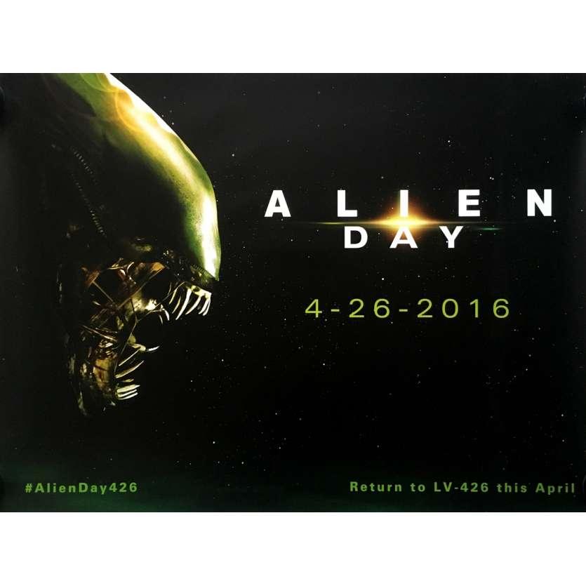 ALIEN DAY Affiche de film - 72x104 cm. - 2016 - Sigourney Weaver, Ridley Scott