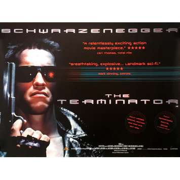 TERMINATOR Movie Poster - 30x40 in. - 1983 - James Cameron, Arnold Schwarzenegger