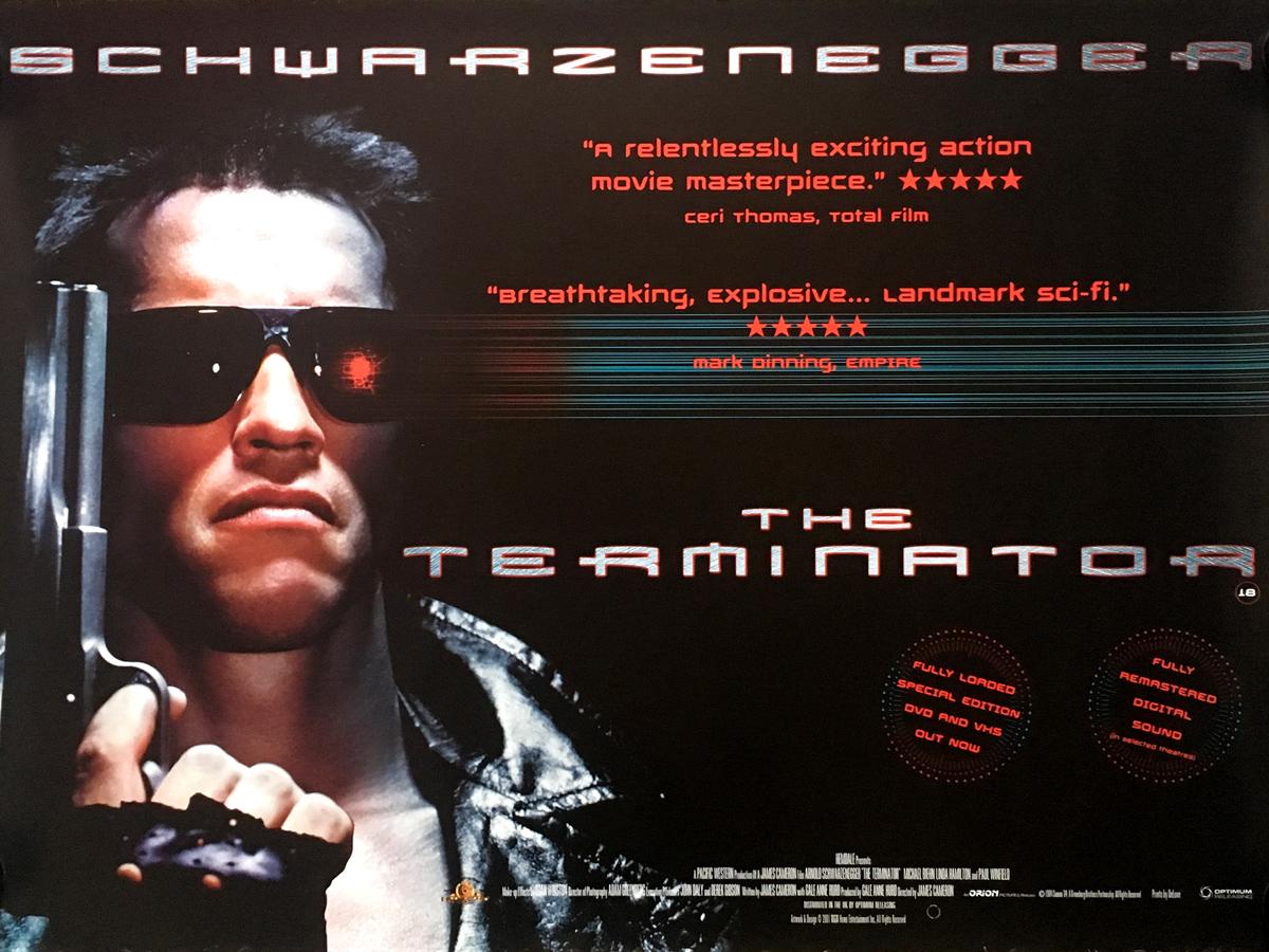 TERMINATOR Movie Poster 30x40 In