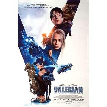 VALERIAN Affiche de film - 69x104 cm. - 2017 - Dane DeHaan, Luc Besson