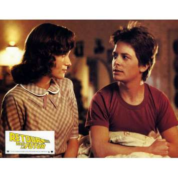 RETOUR VERS LE FUTUR Photo de film N8 21x30 - 1985 - Michael J. Fox, Robert Zemeckis
