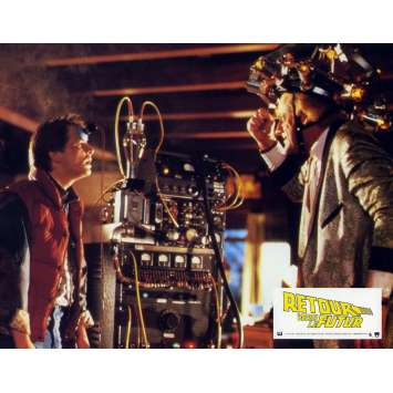 BACK TO THE FUTURE Lobby Card N12 - 9x12 in. - 1985 - Robert Zemeckis, Michael J. Fox