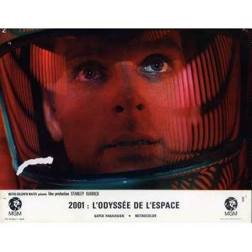 2001 A SPACE ODYSSEY Lobby Card N08, Set A - 9x12 in. - 1968 - Stanley Kubrick, Keir Dullea