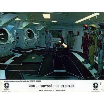 2001 L'ODYSSEE DE L'ESPACE Photo de film N06, Set A - 21x30 cm. - 1968 - Keir Dullea, Stanley Kubrick