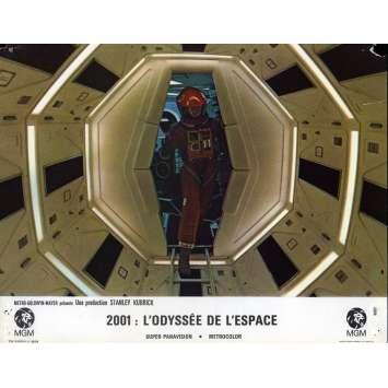 2001 A SPACE ODYSSEY Lobby Card N03, Set A - 9x12 in. - 1968 - Stanley Kubrick, Keir Dullea
