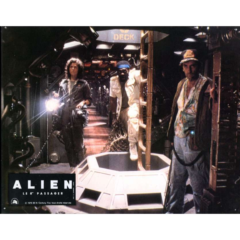 ALIEN Photo de film N07 - 21x30 cm. - 1979 - Sigourney Weaver, Ridley Scott