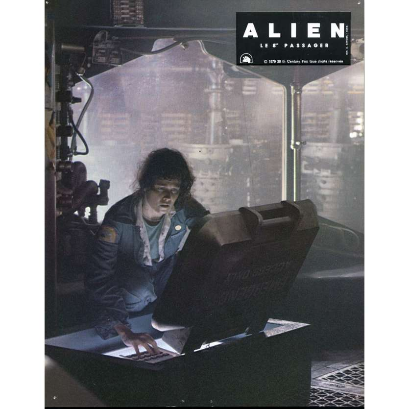 ALIEN Photo de film N06 - 21x30 cm. - 1979 - Sigourney Weaver, Ridley Scott