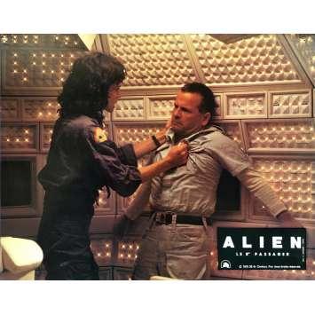ALIEN Lobby Card N01 - 9x12 in. - 1979 - Ridley Scott, Sigourney Weaver