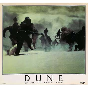 DUNE Lobby Card N05 - 12x15 in. - 1984 - David Lynch, Kyle McLachlan