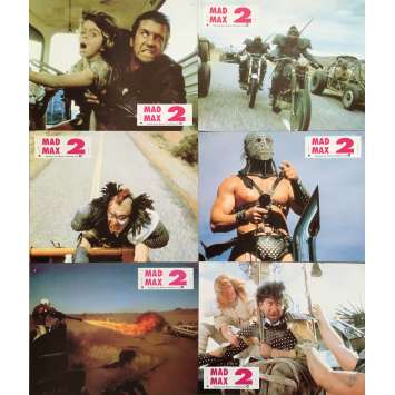 MAD MAX 2 Photos de film x6 - 21x30 cm. - 1982 - Mel Gibson, George Miller