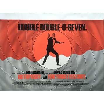 OCTOPUSSY / RIEN QUE POUR VOS YEUX Affiche de film - 72x104 cm. - 1983 - Roger Moore, James Bond