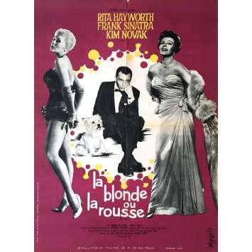 LA BLONDE OU LA ROUSSE Affiche de film - 60x80 cm. - 1957 - Franck Sinatra, George Sidney