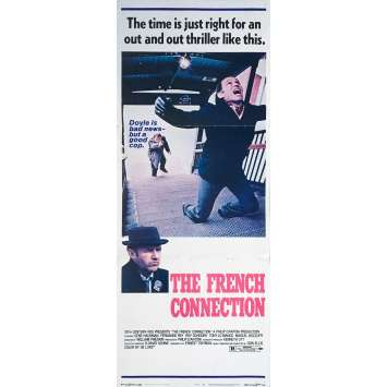 THE FRENCH CONNECTION Movie Poster - 14x36 in. - 1971 - William Friedkin, Gene Hackman