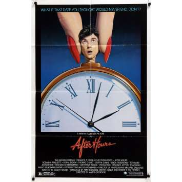 AFTER HOURS US Movie Poster 29x41 - 1985 - Martin Scorcese, Griffin Dunne