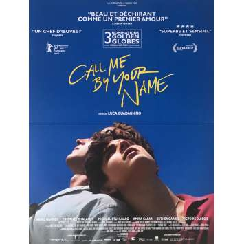 CALL ME BY YOUR NAME Affiche de film - 40x60 cm. - 2017 - Armie Hammer, Luca Guadagnino