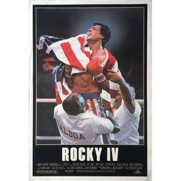 ROCKY IV 4 Affiche de film Préventive Style A. - 69x104 cm. - 1985 - Dolph Lundgren, Sylvester Stallone
