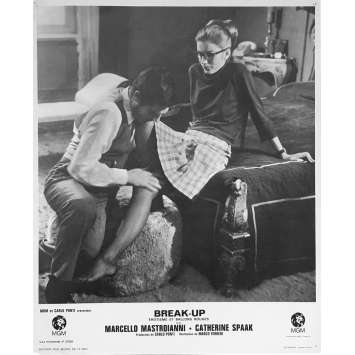 THE MAN WITH THE BALLOONS N02 Lobby Card - 9x12 in. - 1968 - Marco Ferreri, Marcello Mastroianni