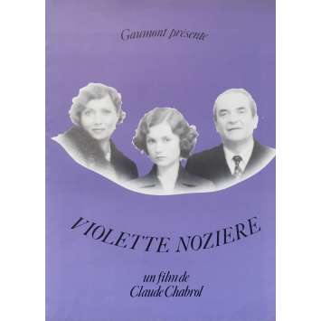 VIOLETTE NOZIERE Synopsis 8p - 21x30 cm. - 1978 - Isabelle Huppert, Claude Chabrol