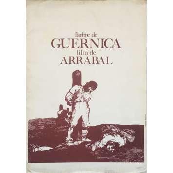 L'ARBRE DE GUERNICA Dossier de presse 22P - 21x30 cm. - 1975 - Mariangela Melato, Fernando Arrabal