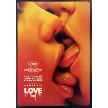 LOVE Synopsis 4p - 21x30 cm. - 2015 - Aomi Muyock, Gaspar Noe