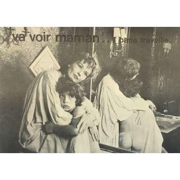 VA VOIR MAMAN, PAPA TRAVAILLE Dossier de presse 22P - 21x30 cm. - 1978 - Marlène Jobert, François Leterrier