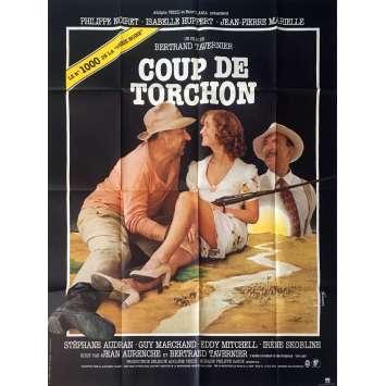 COUP DE TORCHON French Movie Poster '82 Jean Noiret, Bertrand Tavernier