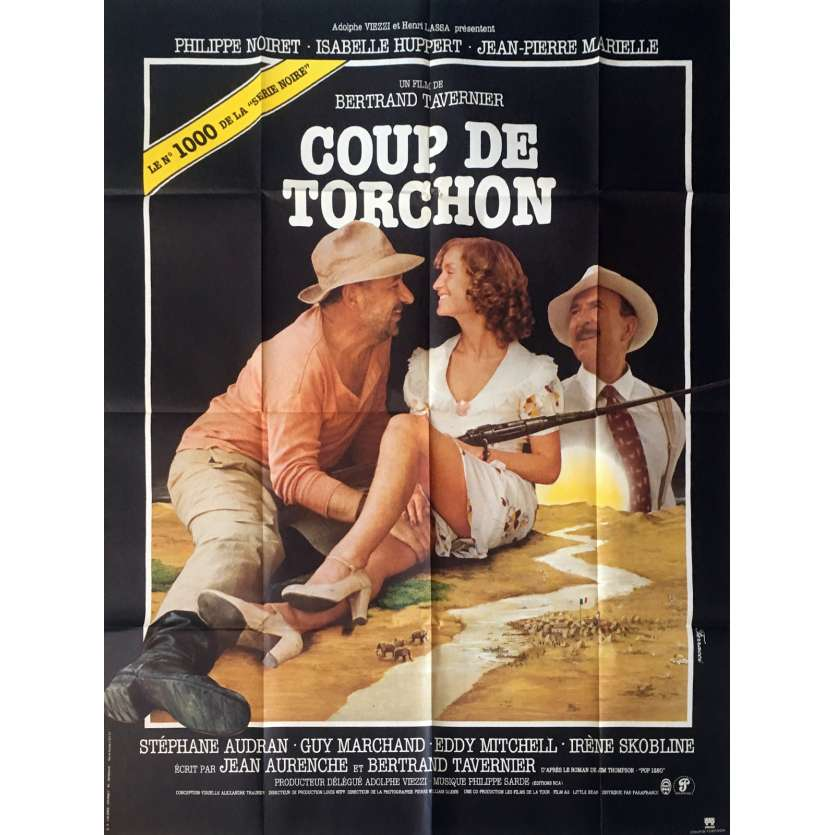 COUP DE TORCHON French Movie Poster '82 Jean Noiret, Bertrand Tavernier