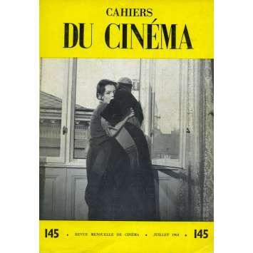 LES CAHIERS DU CINEMA N145 Magazine - 7x9 in. - 1963 - Otto Preminger, Romy Schneider