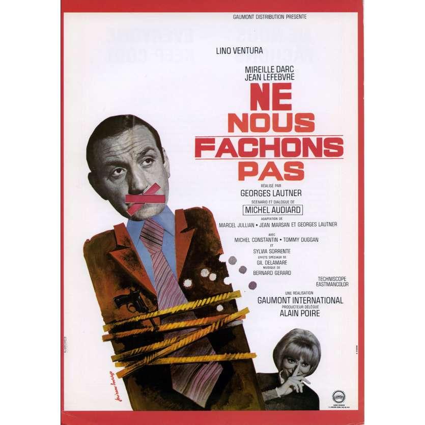 NE NOUS FACHONS PAS Synopsis 21x30 - 1966 - Lino Ventura, Georges Lautner
