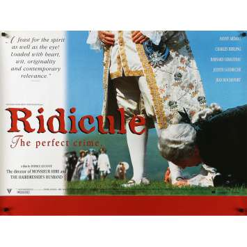 RIDICULE Movie Poster - 30x40 in. - 1996 - Patrice Leconte, Charles Berling