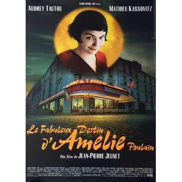 AMELIE POULAIN Affiche de film - 69x104 cm. - 2001 - Audrey Tautou, Jean-Pierre Jeunet