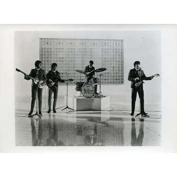 QUATRE GARÇONS DANS LE VENT Photo de presse N09 - 12x16,5 cm. - 1964 - The Beatles, Hard Day's Night