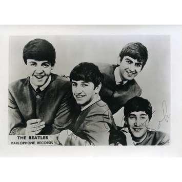 QUATRE GARÇONS DANS LE VENT Photo de presse N07 - 12x16,5 cm. - 1964 - The Beatles, Hard Day's Night