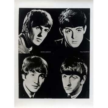 QUATRE GARÇONS DANS LE VENT Photo de presse N02 - 12x16,5 cm. - 1964 - The Beatles, Hard Day's Night