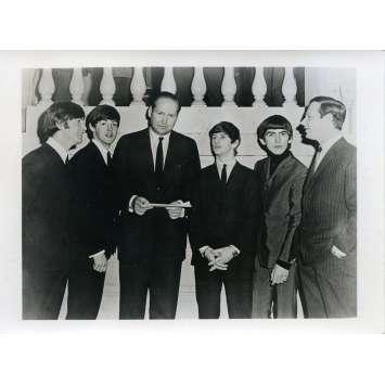 QUATRE GARÇONS DANS LE VENT Photo de presse N01 - 12x16,5 cm. - 1964 - The Beatles, Hard Day's Night