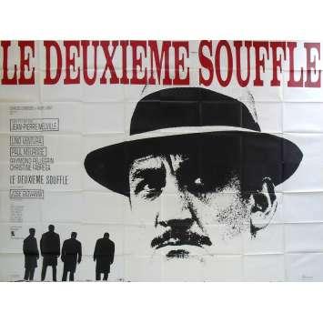 SECOND BREATH Movie Poster N01 - 94x126 in. - 1966 - Jean-Pierre Melville, Lino Ventura