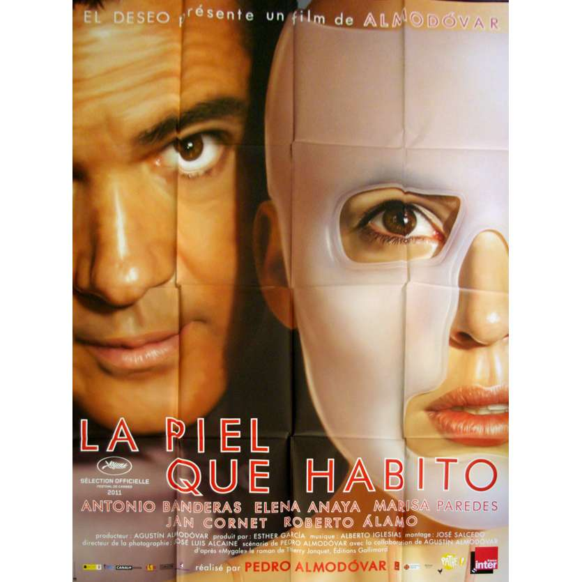 LA PIEL QUE HABITO Affiche 120x160 FR '11 Pedro Almodovar Movie Poster