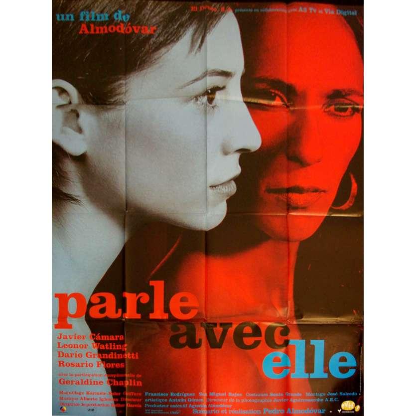 HABLA CON ELLA French Movie Poster 47x63 '02 Pedro Almodovar