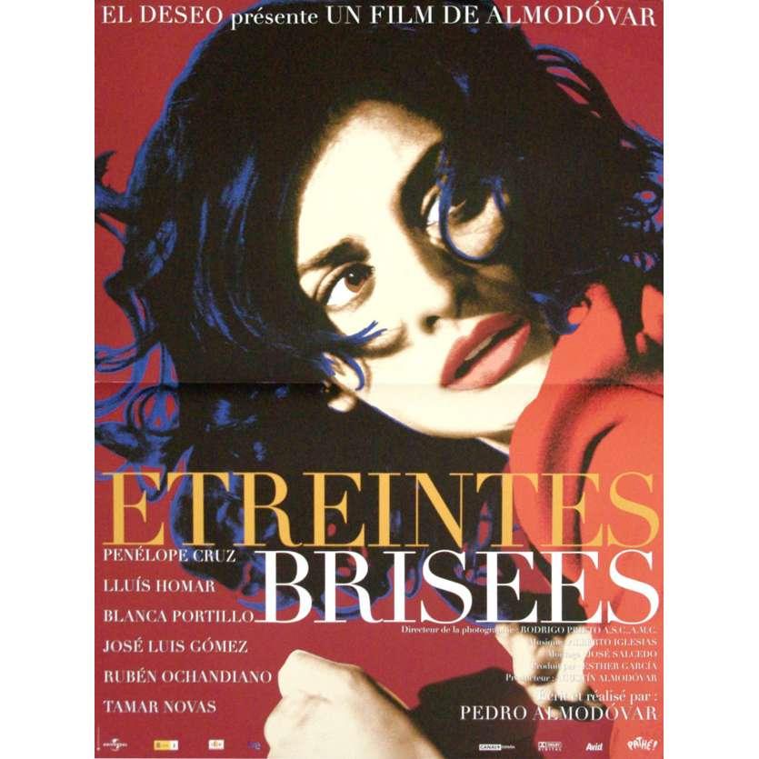 BROKEN EMBRACES French Movie Poster 15x21- 2009 - Pedro Almodóvar, Penélope Cruz