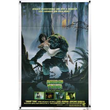 SWAMP THING Movie Poster - 29x41 in. - 1982 - Wes Craven, Adrienne Barbeau