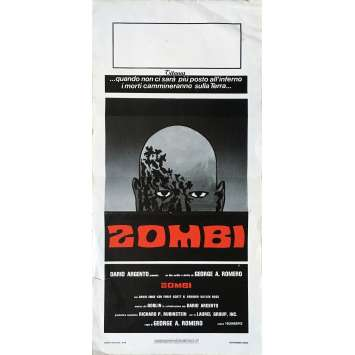 DAWN OF THE DEAD Movie Poster - 13x28 in. - 1979 - George A. Romero, Sarah Polley